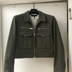NWT Rag and Bone Crop Army Jacket Sz 6